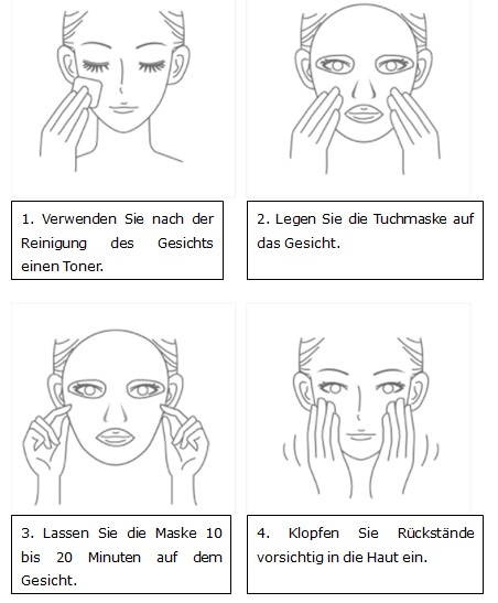 Anwendung_Tuchmaske